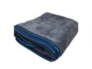 Auto-DNA Grey Twist Drying Towel 600gsm - Rectangle