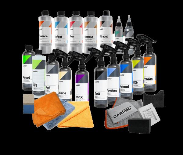 Pro Detailing Kit Basic (excl. machine and pads) - CarPro Reset Intensive Car Shampoo