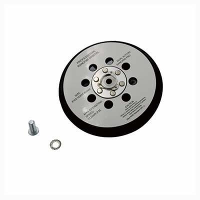 Auto-DNA Black 5 inch Dust Buster Backing Plate - PRONET Abrasives Ltd